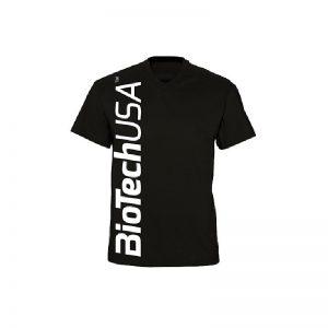 BioTech-USA-Panske-Tricko-Cierne