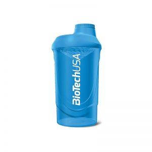 BioTech-USA-Shaker-Wave-Azurova-Modra-Priesvitna-600ml