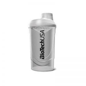 BioTech-USA-Shaker-Wave-Biela-Priesvitna-600ml
