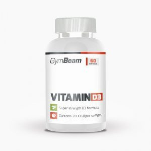 GymBeam Vitamin D3 2000 IU