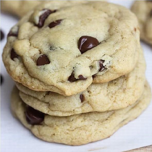 Čokoláda - chip cookies