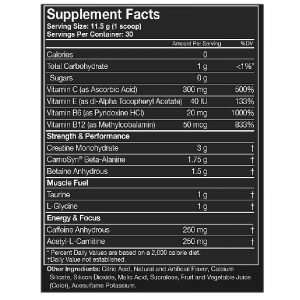 MusclePharm-Assault-Sport-345g-Supplement-Fact