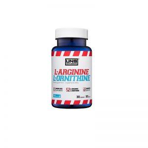 UNS-Supplements-L-Arginine-L-Ornithine-30tab