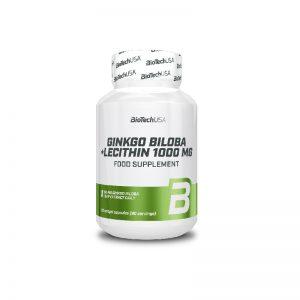 BioTech-USA-Ginkgo-Biloba+Lecithin-90tab
