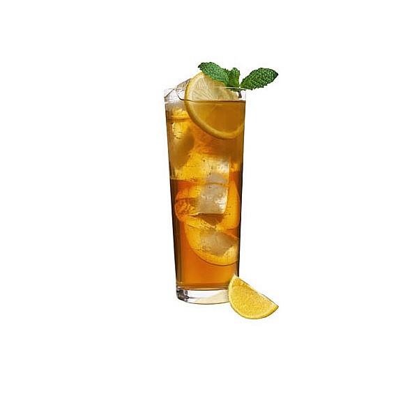 Citrónový ľadový čaj