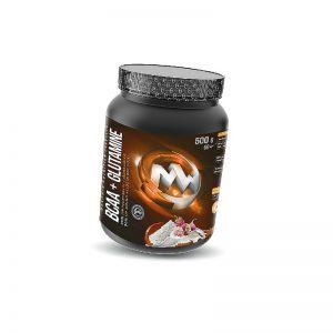 MAXXWIN-BCAA+Glutamine-Malina-500g