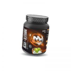 MAXXWIN-BCAA+Glutamine-Zelene-Jablko-500g