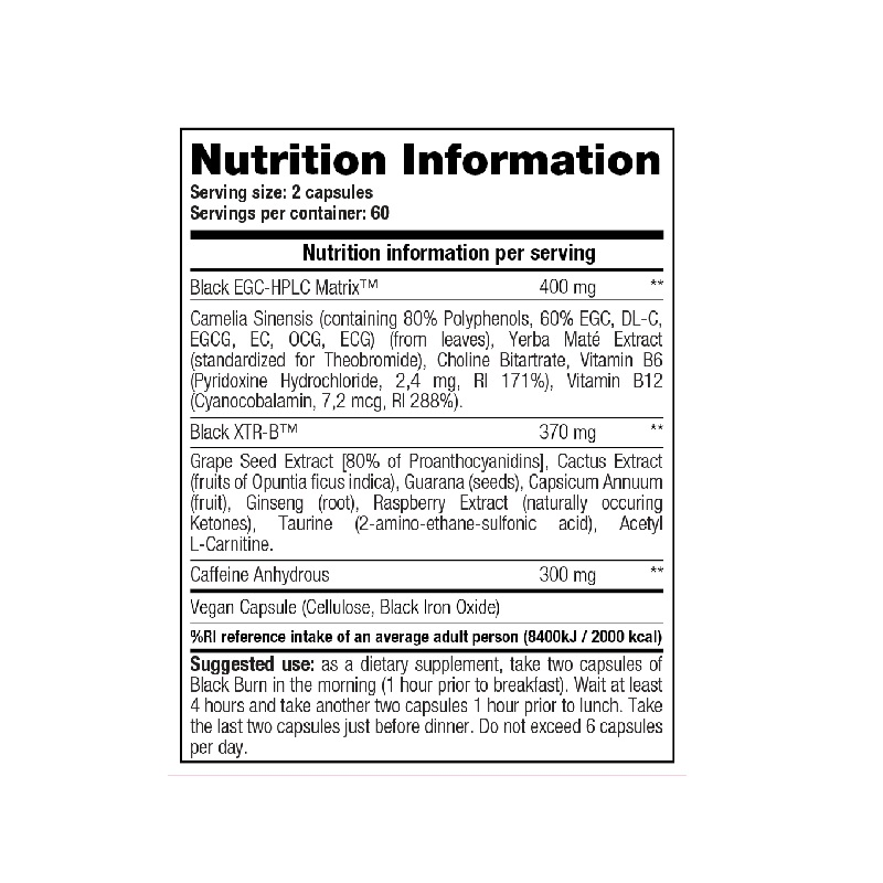 Stacker2-Black-Burn-Nutrition-Facts-120-tab