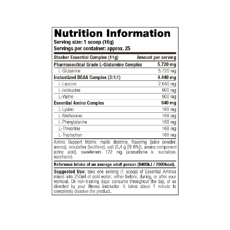 Stacker2-Essential-Aminos-Nutrition-Facts-400-g