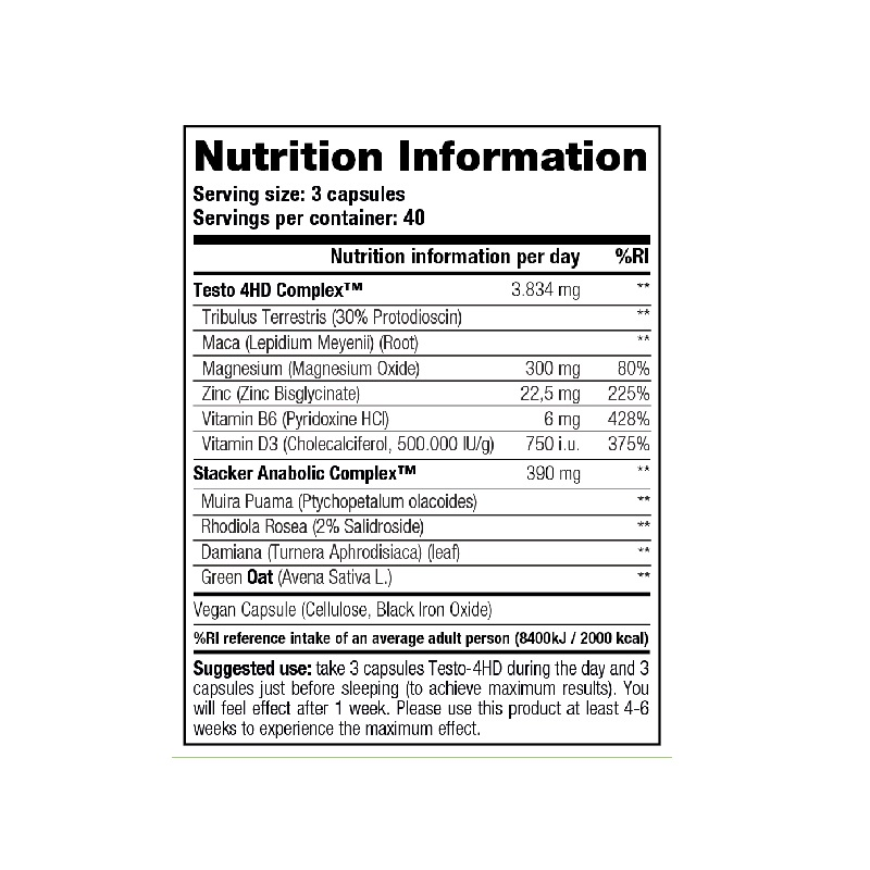Stacker2-Testo-4HD-Nutrition-Facts-120-tab