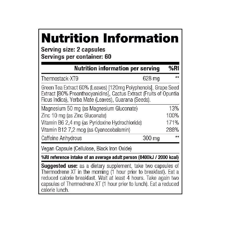 Stacker2-Thermodrene-XT-Nutrition-Facts