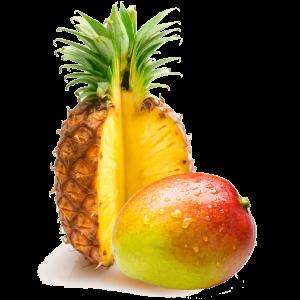 Ananás-mango