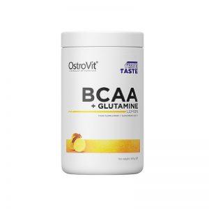 OstroVit-BCAA+Glutamine-Lemon-400-g