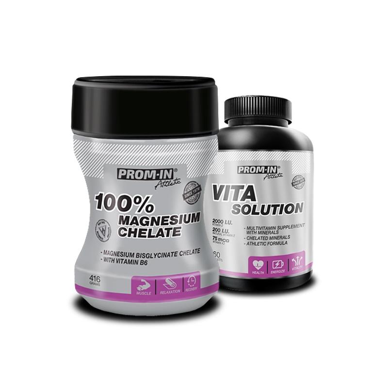 PROM-IN-100_Magnesium-Chelate-416-g+Vita-Solution-60-tab