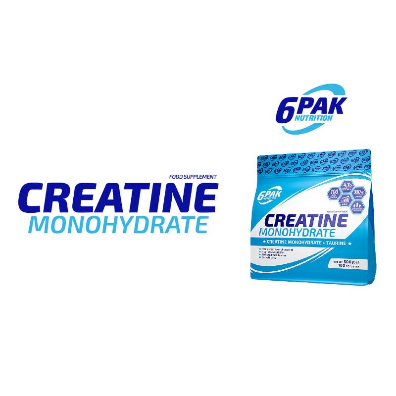6 Pak Creatine Monohydrate