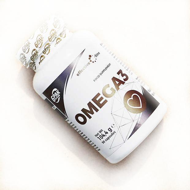 6 Pak Effective Line Omega 3