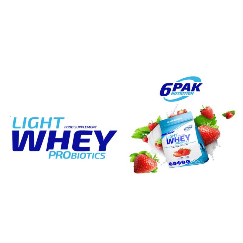 6 Pak Light Whey Probiotics