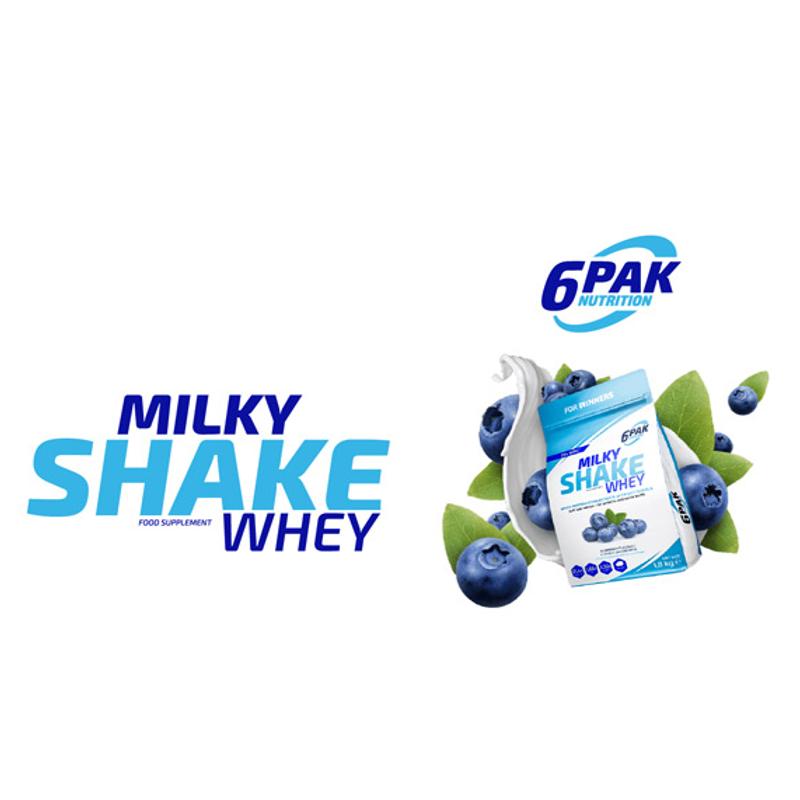 6 Pak Milky Shake Whey