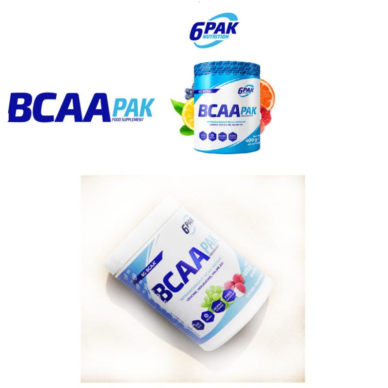 6 Pak Nutrition BCAA Pak