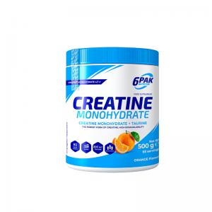 6Pak_Nutrition_Creatine_Monohydrate+Taurine_Orange_500_g