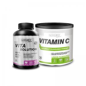 PROM-IN_Vita_Solution_60_tab+Vitamin_C_200_g
