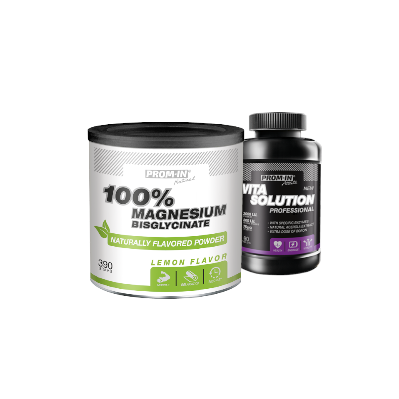 PROM-IN_CFM_100_Magnesium Bisglycinate_316_g+ Vita Solution Professional