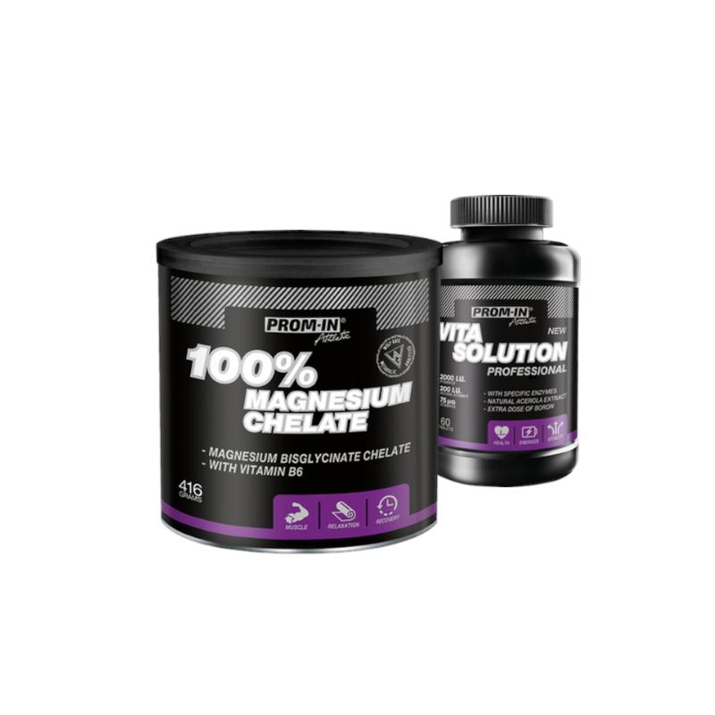 PROM-IN_CFM_100_Magnesium_Chelate_416_g+Vita_Solution_Profesional